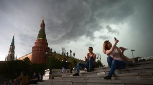 """В Москве объявили """"желтый"""" уровень погодной опасности из-за тумана"""
