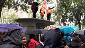 В Париже началось масштабное шествие против трудовой реформы