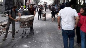 В Мексике нашли более 50 человек, пропавших после землетрясения