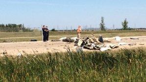 В Канаде разбился самолет, погиб пилот