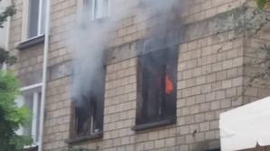 Появились подробности пожара в центре столицы