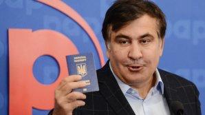 Саакашвили попытается пересечь границу в автобусе с журналистами
