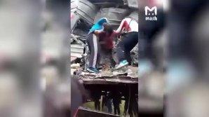 Пассажиры сами вытаскивали пострадавших из искорёженного вагона в Югре
