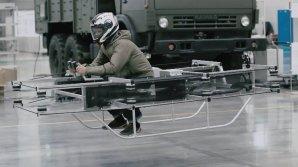 "Концерн ""Калашников"" представил концепт летающего мотоцикла"