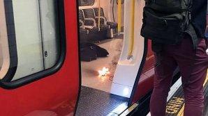 В метро Лондона прогремел взрыв: видео