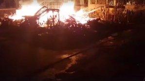 В Одессе горит детский лагерь: есть пострадавшие и пропавшие без вести