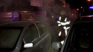 Минувшей ночью пожарные потушили три автомобиля в столице