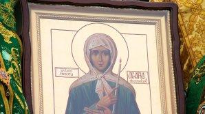 Первую годовщину канонизации святой Агафьи отметили праздничной литургией в Успенском монастыре