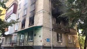 В центре Кишинёва сгорела квартира людей, страдающих психическими расстройствами