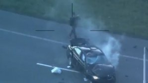 """""""Терминатор"""" из Голландии попытался сбежать от полиции, уцелев в головокружительной аварии"""