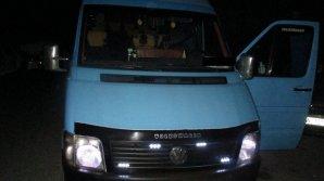 30-летнего жителя столицы задержали за угон микроавтобуса