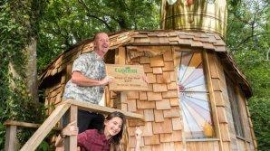 В Великобритании отец ради дочери превратил старый сарай в нечто волшебное