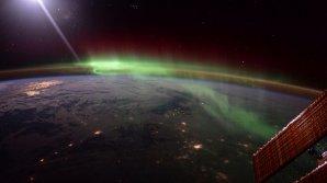 Европейское космическое агентство опубликовало видео полярного сияния из космоса