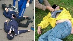 Трое мужчин одновременно потеряли сознание на улице в Петербурге, один из них скончался