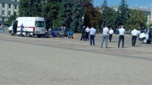 На центральной площади Белгорода нашли два трупа