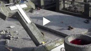 На румынском кладбище опрокинули 120 надгробий советских солдат
