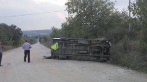 25-летний парень попал в реанимацию после серьезной аварии в селе Гэлешть