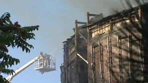 Пожар в Ростове-на-Дону потушен