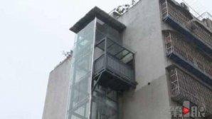 Китаец построил себе персональный лифт на шестой этаж
