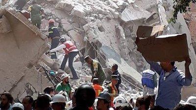 PUBLIKA WORLD. Как выглядит Мексика после разрушительного землетрясения (видео)