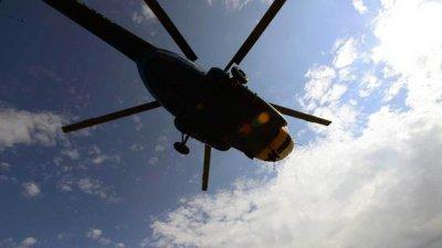 В аэропорту Анапы вертолетчика изрубило винтом
