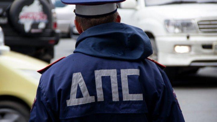 Грязь на омских дорогах помешала угонщику скрыться от полиции