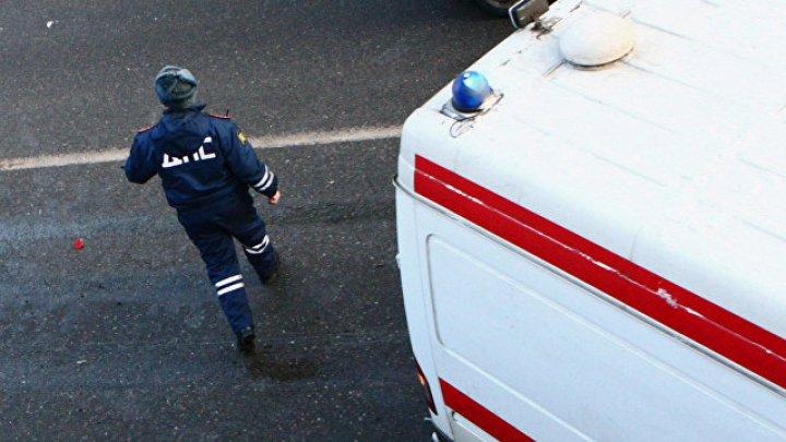 Автобус с детской футбольной командой попал в ДТП в Челябинске