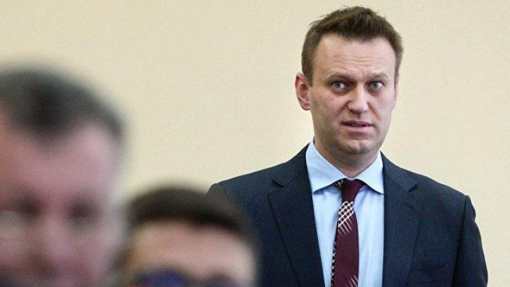 Навальный сообщил, что его отпустили из отдела полиции в Москве