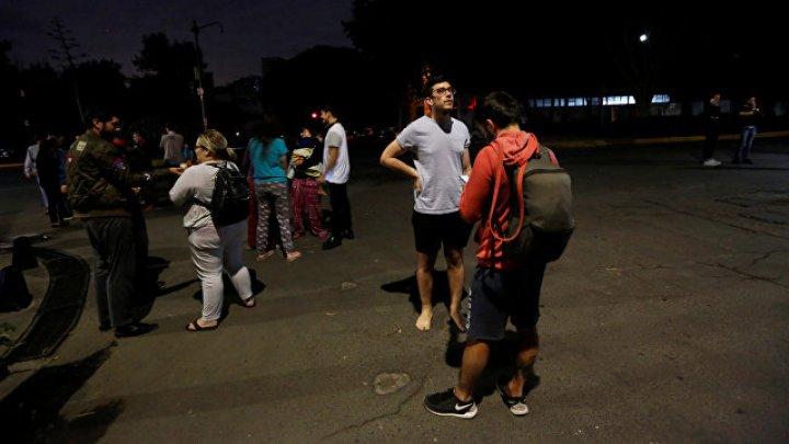 Землетрясение в Мексике сопровождалось загадочными огнями