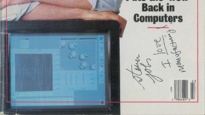 Автограф Стива Джобса продают за 15 тысяч долларов