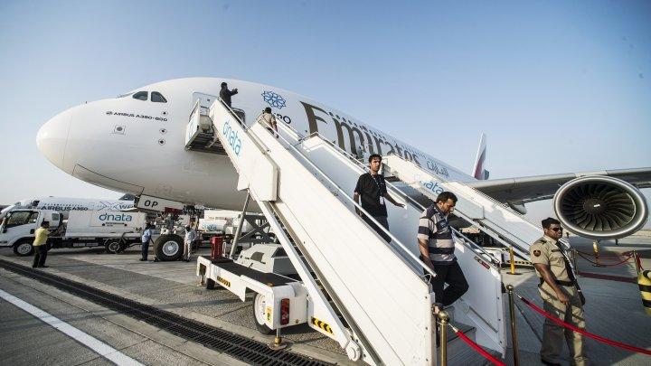 ВДомодедово при посадке едва непотерпел крушение крупнейший пассажирский самолет