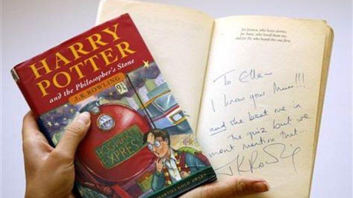"""Первое издание """"Гарри Поттера"""" ушло с молотка за рекордную сумму"""