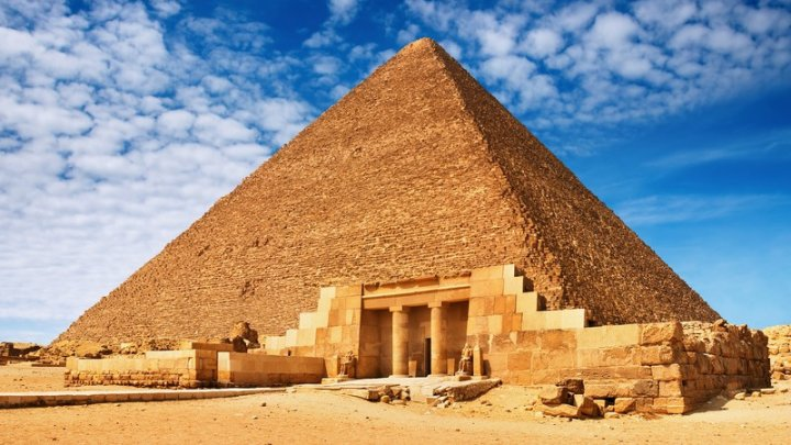Разгадана тайна строительства Великой пирамиды Гизы