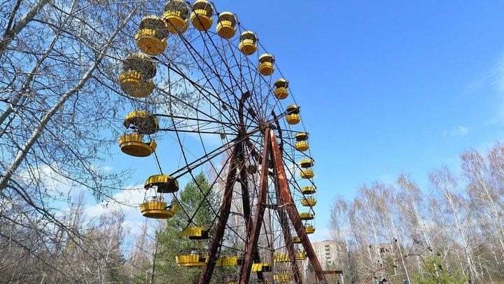 Через 31 год после аварии на ЧАЭС запустили колесо обозрения