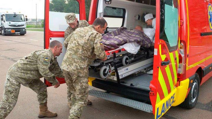 Пятеро украинских пограничников разбились из-за ямы на дороге в Луганской области