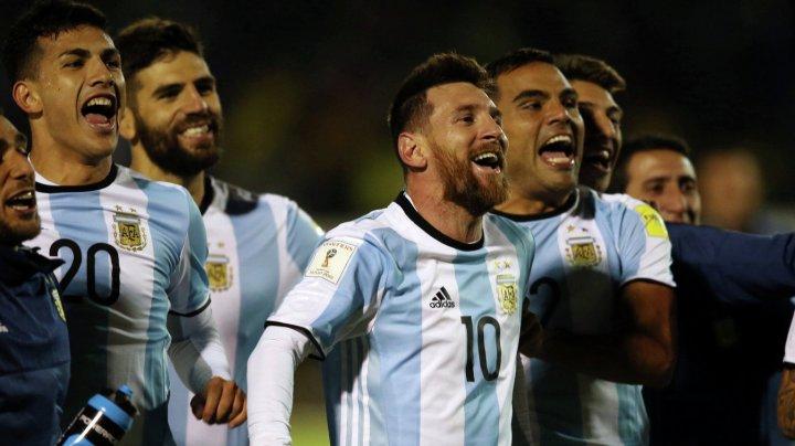 Сборная Аргентины пробилась в финальный турнир ЧМ-2018