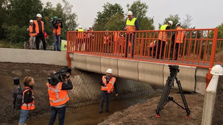 ВНидерландах открылся мост, напечатанный на3D-принтере