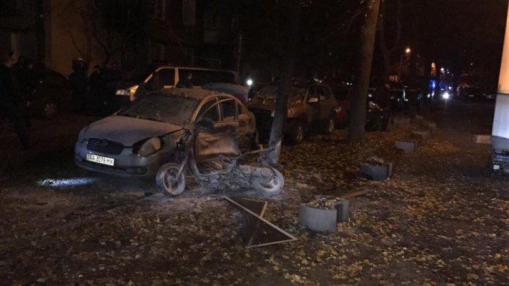 Охранник украинского депутата погиб от взрыва в центре Киева, спасая других людей
