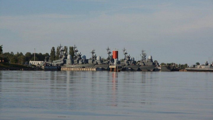 В Калининградской области нашли украденные военные корабли