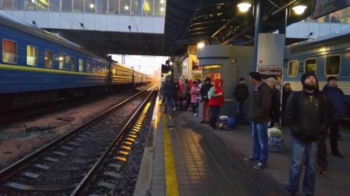 В Киеве эвакуируют железнодорожный вокзал из-за угрозы взрыва
