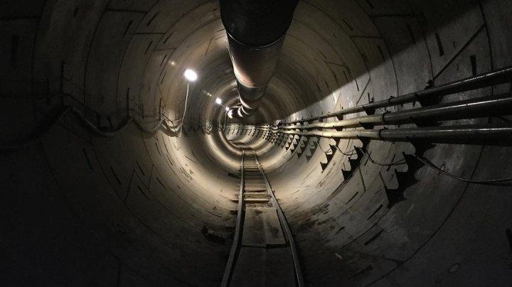 Илон Маск опубликовал первое фото скоростного туннеля под Лос-Анджелесом