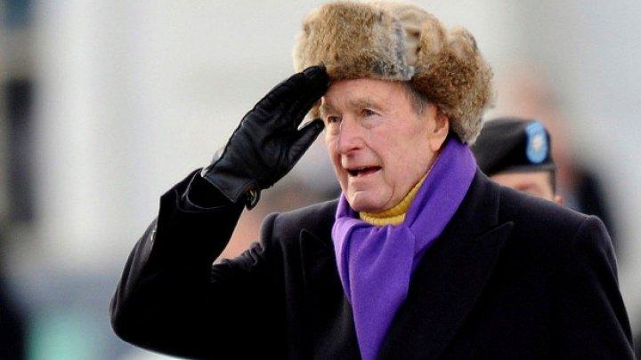 Писательница Бейкер Кляйн рассказала подробности домогательств Буша-старшего