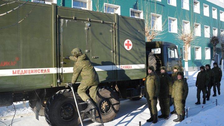 Четверо солдат пострадали при взрыве в воинской части в Брянской области