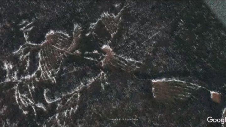 В районе перевала Дятлова найдены таинственные древние геоглифы