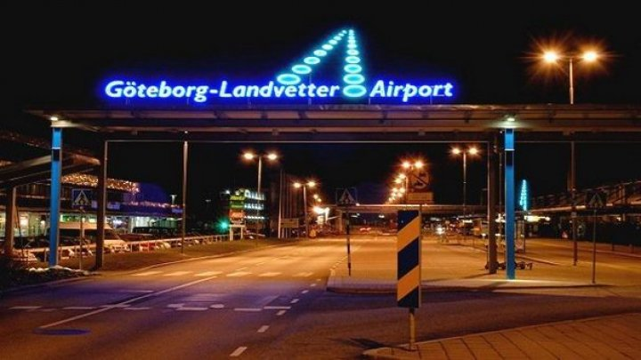 В аэропорту шведского города Гетеборга обнаружили подозрительный предмет
