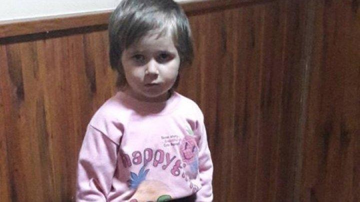 Полиция нашла мать четырехлетней девочки, потерявшейся в Бельцах