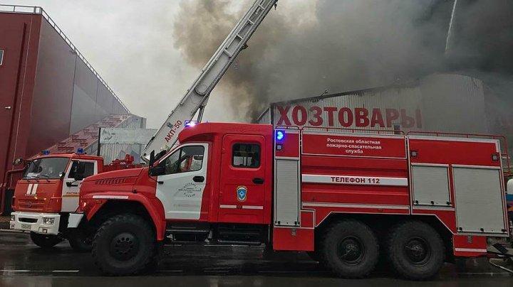 В екатеринбургском доме культуры, в котором находились дети, вспыхнул пожар