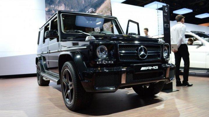 Из московского автосалона угнали Gelandewagen за 170 тысяч евро