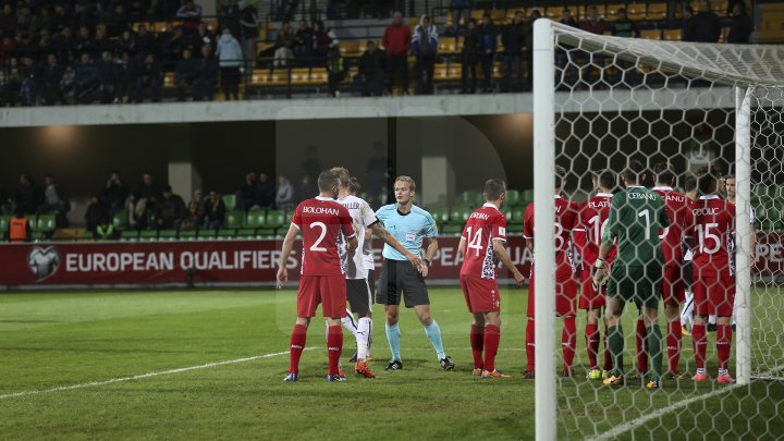 Фоторепортаж: матч Молдова-Австрия
