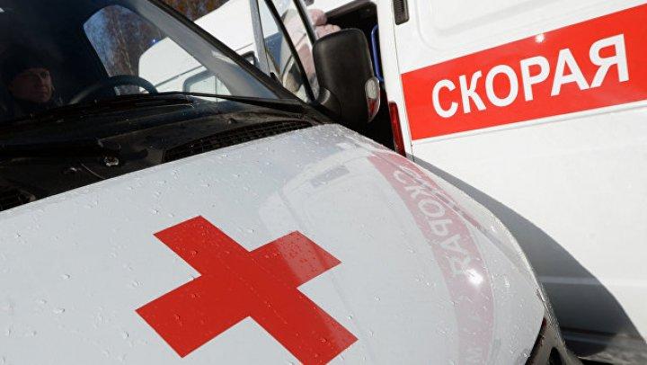В Ставропольском крае опрокинулся рейсовый автобус